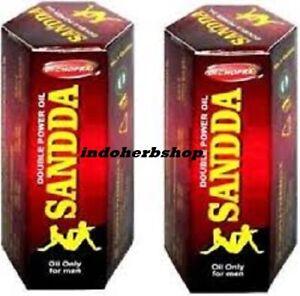2 pack 100% Pure Sandha Saandhha Sanda Oil Organ Enlargement Massage 15ml