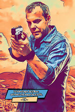 Jack Bauer (24) Comic Icons Art Print (Available In 4 Formats)