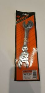 """FRANKLIN DOUBLE OPEN END AF SPANNERS 1/4"""" TO 7/8"""" SAE"""