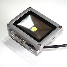 10 Watt LED Fluter Außen Strahler Halogen Lampe Flutlicht Licht Beleuchtung weiß
