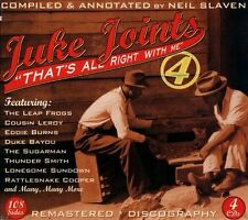 Juke Joints, Vol. 4: That's All Right with Me [Box] by Various Artists (CD,...