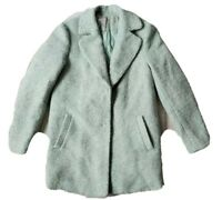 Forever 21 Exclusive Womens Small Wool Blend Mint Green Blazer Jacket W/ Lining