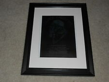 "Framed Black Sabbath 2013 Tour Mini-Poster,Ozzy Osbourne, London,Glasgow 14""x17"""