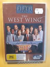 The West Wing : Season 5 [ 6 DVD Set ] BRAND NEW & SEALED,  Region 4, Free Post