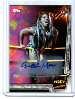 WWE Ember Moon 2018 Topps Women's Division Authentic Autograph Card SN 123 / 199