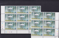 great white heron nevis $3  mint never hinged stamps ref r15021
