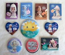 New ListingPrecious Moments - set of 9 assorted pins and 1 magnent - 1990s