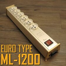 YAQIN ML-1200 6way Hi End EURO TYPE Power Filter Conditioner Block US