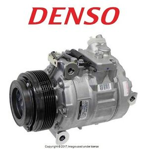 For BMW E92 E83 328i xDrive X3 Air Condition A/C Compressor w/ Clutch Denso OEM