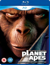 PLANET OF THE APES 5 MOVIE SET - BLU-RAY - REGION B UK