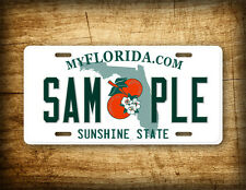 CUSTOM FLORIDA License Plate Customized Personalized Auto Tag Sunshine State FL