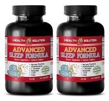 ADVANCED SLEEP FORMULA 952MG - Brain and memory power boost - antiaging - 2B
