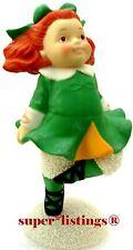 Dept. 56 Snowbabies My Little Lassie Irish Step Dancer Retired 2003 New 69199