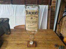 More details for rare teachers 4.5l whisky bottle money jar drinks mancave pub memorabilia litre