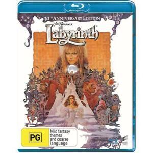 Labyrinth (30th Anniversary) Blu-Ray **Region Free**