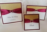 Luxury Pocket Wedding Invitation + RSVP, INFO & POEM