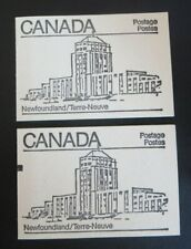 """CANADA STAMPS #BK82 MINT 1982 """"MAPLE LEAF ISSUE """" BOOKLETS  SEALED/COUNTING MARK"""