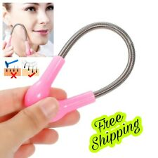 Stainless steel Face Hair Spring Remover Stick Removal Threading Beauty Tool