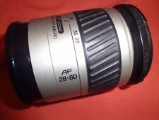 Minolta macro zoom 28-80 mm 1:3. 5-5.6 Fit Argento D Sony