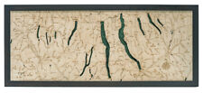 "FINGER LAKES, NY 13.5"" x 31"" New, Laser-Cut 3-Dimen Wood Chart/Lake Art Map"