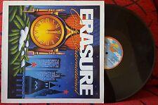 "ERASURE **Crackers International** RARE PROMO 12"" MAXI EP Spain 1988 SANNI LABEL"