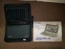 Vintage Sharp Zaurus ZR-5000 PDA, manual, case, Excellent shape, New Battery