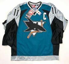 OWEN NOLAN SAN JOSE SHARKS AUTHENTIC NIKE NHL GAME JERSEY SIZE 52 NEW WITH TAGS