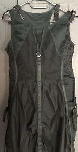 Marithe Francois Girbaud Green Midi Dress Size 42Italy 38 France 36 Germany