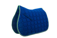 Roma Circle Quilt All Purpose Saddle Pad with Nylon Girth and Billet Straps