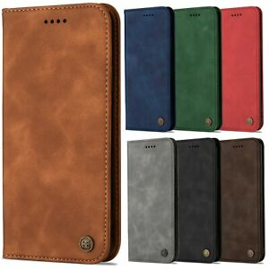 Luxury Leather Wallet Case Flip Cover Folio For Apple iPhone 11 10 X 8 7 6 Plus