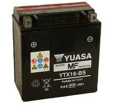 YTX16-BS BATTERIA YUASA SIGILLATA 12V 14,7AH SuzukiVZR Intruder M-1800 2006 -