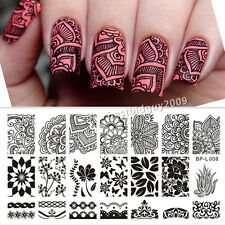 BORN PRETTY Nail Art Stamping Plate Various Arabesque Images Template  L008