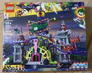 LEGO Batman Movie DC Comics The Joker Manor #70922 Factory Sealed Box Retired
