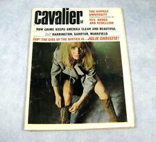 Vintage CAVALIER Magazine May 1966 Julie Christie