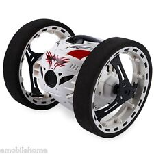 PEG SJ88 2.4GHz RC Jumping Bounce Car with Flexible Wheels Rotation LED Light