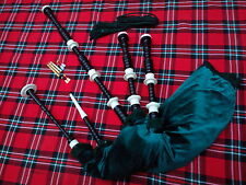 TC Great Highland Bagpipe Immation Ivory Amount Black Color/Dudelsack.Bagpipes