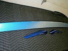 1982-92 Camaro Rear Hatch Deck Spoiler Air Dam OEM 3 Piece GM ORIGINAL TPI BLUE