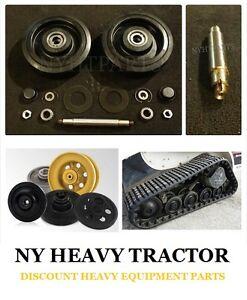 2126628 MIDDLE Bogie Wheel Kit X2 W/ SHAFT for CAT 247 257 247B 257B