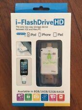 64 GB USB i-FlashDriveHD-64GB - Two way Storage Device between iOS and Mac/PC