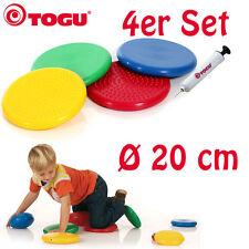 TOGU Dynair Senso Mini Ø 20 cm Ball-kissen 4er Set mit Pumpe | Kind-er NEU + OVP