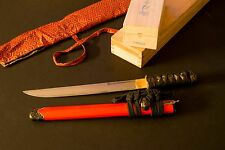 Very Rare: Paul Chen Hanwei Tanto Plum Blossom w/ Cleaning Kit (#1052-GT)