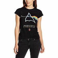 Pink Floyd Women's AWBDG Short Sleeve T-shirt Black Size 10 (manufacturer -