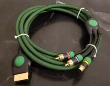 Original xbox Monster cable 10 ft long 24k gold connectors A1 condition