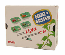 Confettura extra monoporzione Light (Stevia) 100 pz. Menz&Gasser