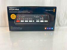 Blackmagic Design Atem Mini - Hdmi Live Stream Switcher - Open Box