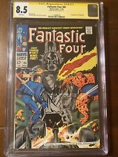 FANTASTIC FOUR #80 11/68 CGC 8.5 WHITE SS STAN LEE! FIRST TOMAZOOMA! NICE!