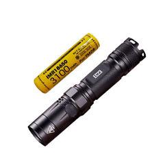 Combo: Nitecore EC23 CREE XHP35 HD LED Flashlight w/1x 3100mAh 10A Battery