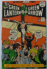 Green Lantern #89 (Apr-May 1972, DC), VFN-NM condition, Neal Adams art, 52 pages