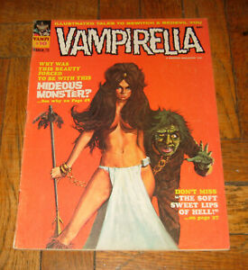 VAMPIRELLA # 10  MAR. 1971  WARREN