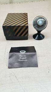 Vintage Honeywell Advertising Desk Thermometer Mid-Century